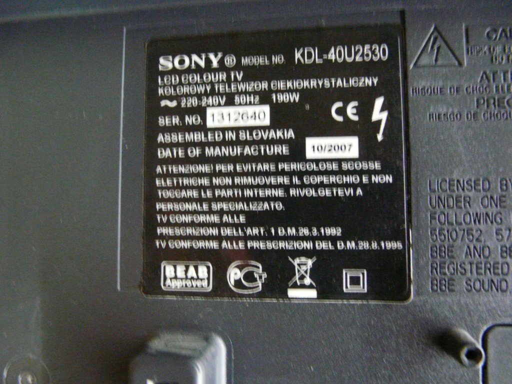 1 Sony KDL40U2530 (6)