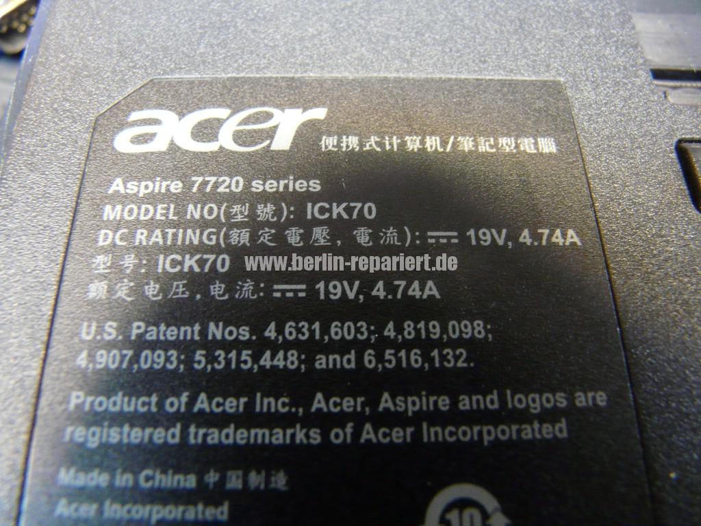 ACER Aspire 7720, kein Bild, Grafik (8)
