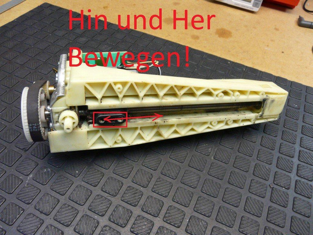 AEG CG6600, Allgemeine Störung (3)
