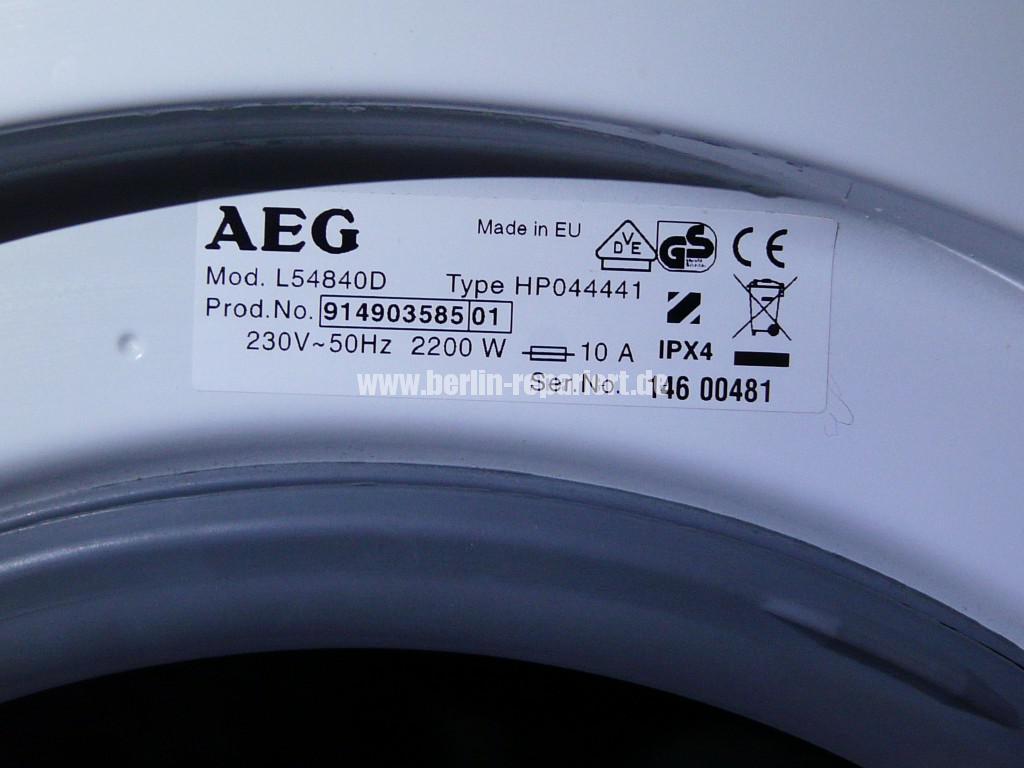 AEG L5484D, heizt nicht, Heizung Defekt (3)