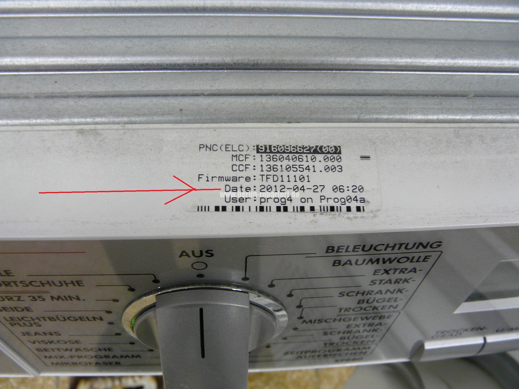 Aeg elektrolux wäschetrockner trommel dreht nicht mehr