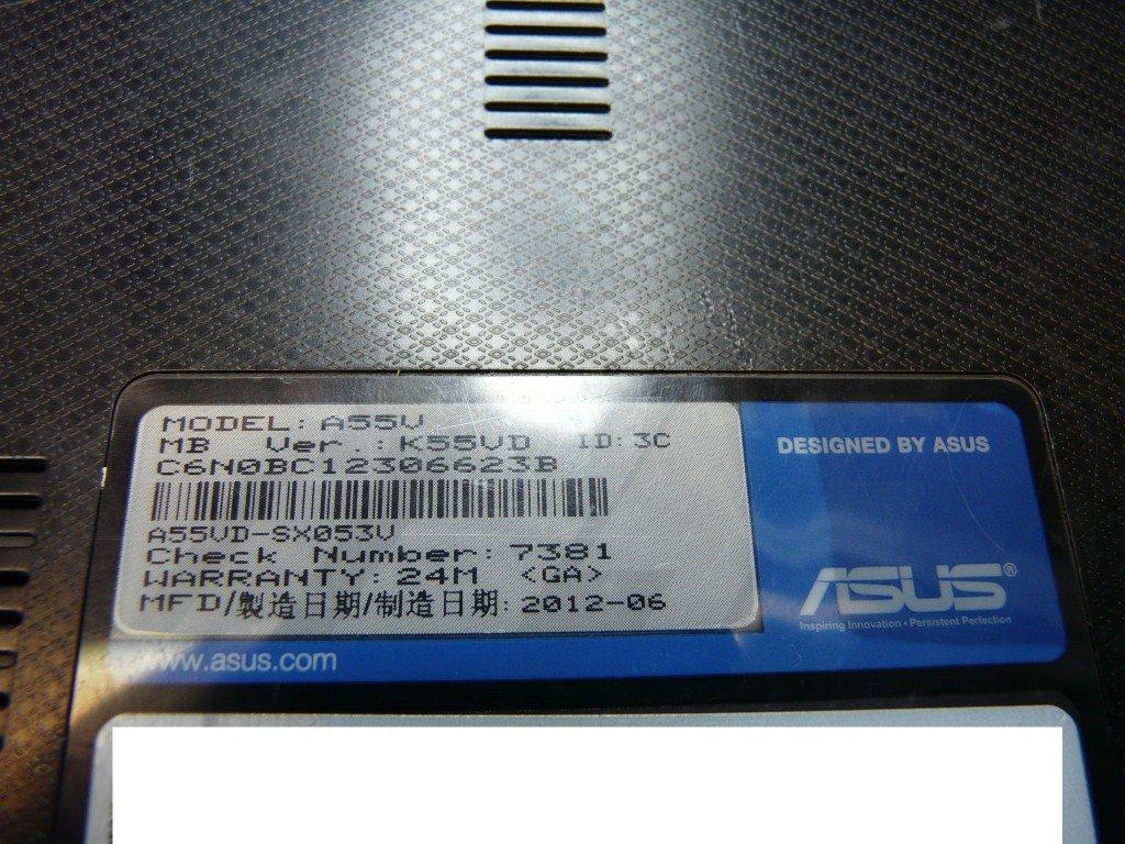 ASUS A55V netzbuchse defekt Brennt (10)