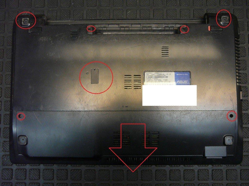 ASUS A55V netzbuchse defekt Brennt (2)