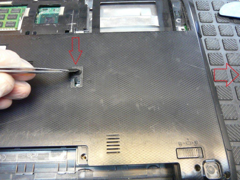 ASUS A55V netzbuchse defekt Brennt (5)
