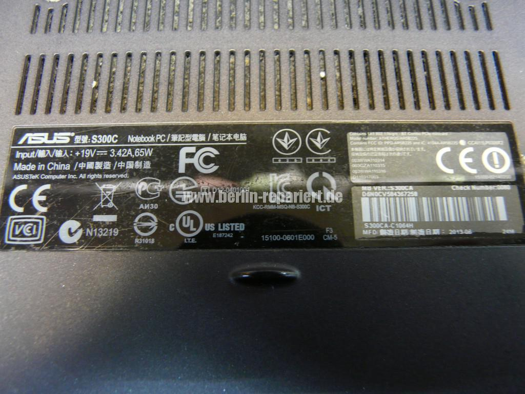 ASUS S300C, Digitizer defekt (3)