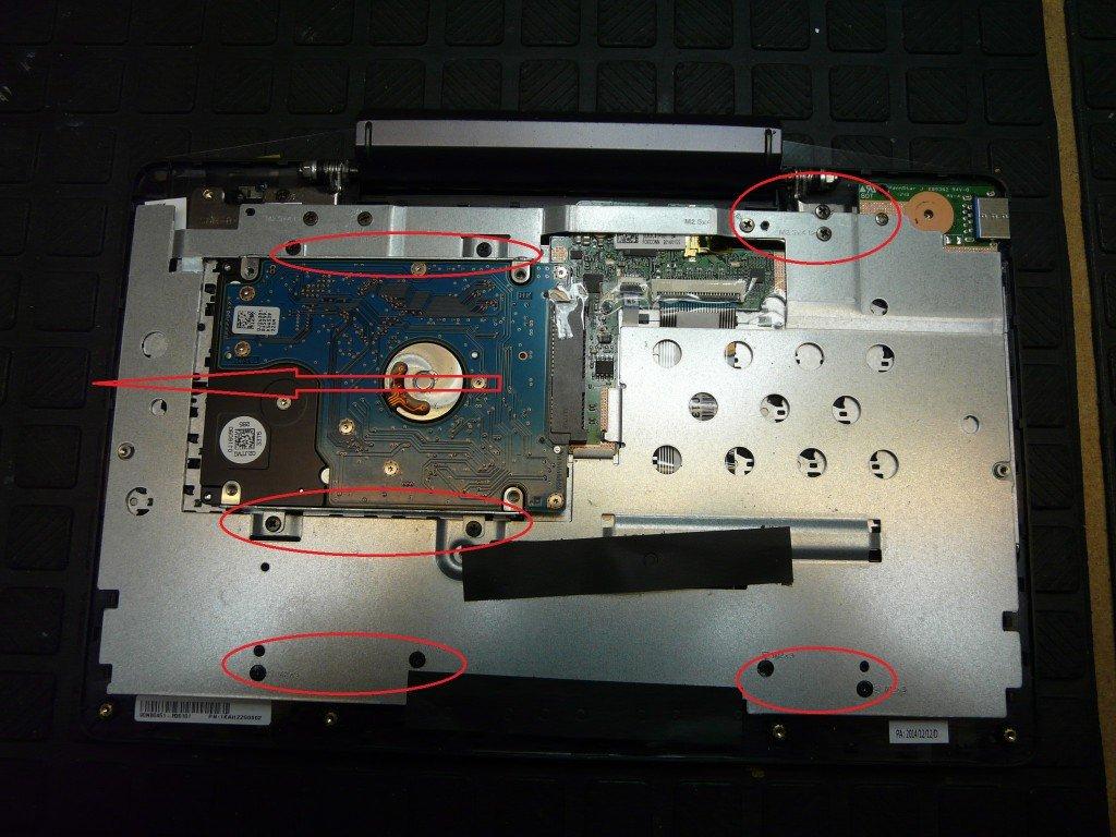 ASUS Transformer Book T100TA Tastatur Defekt (5)