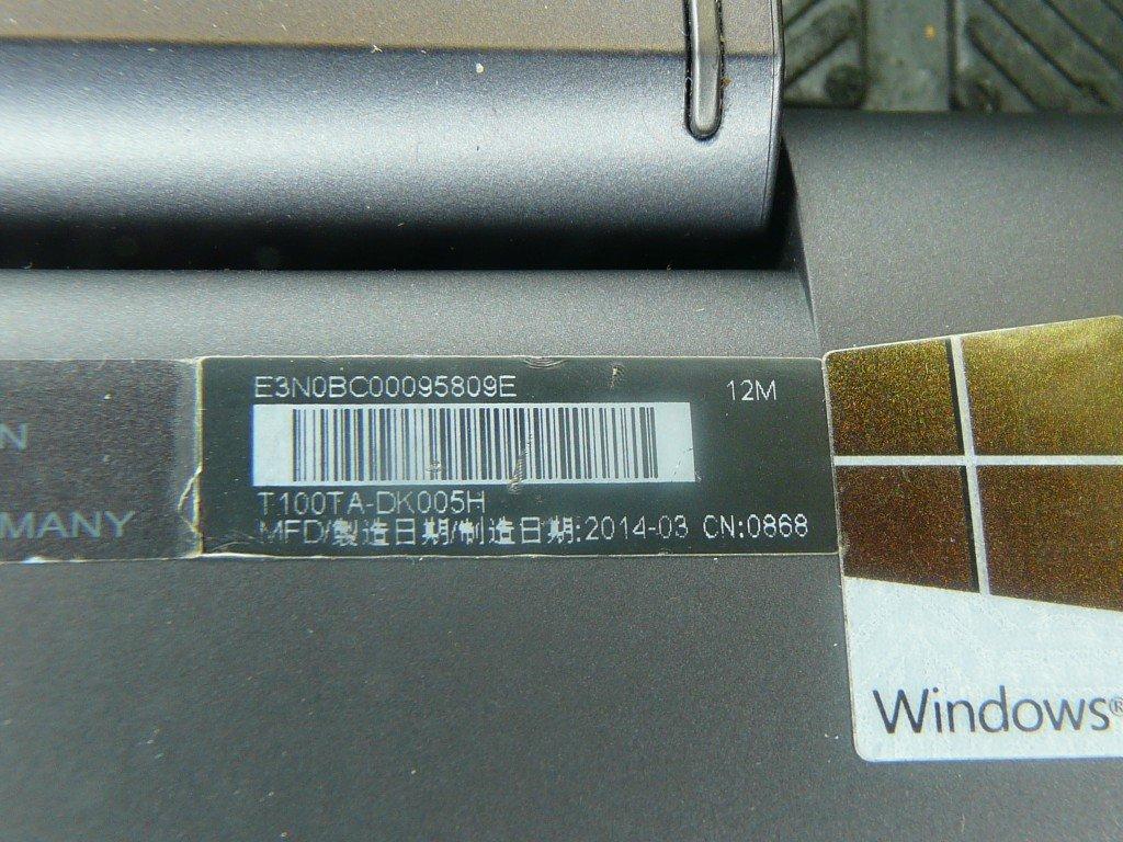 ASUS Transformer Book T100TA Tastatur Defekt (8)