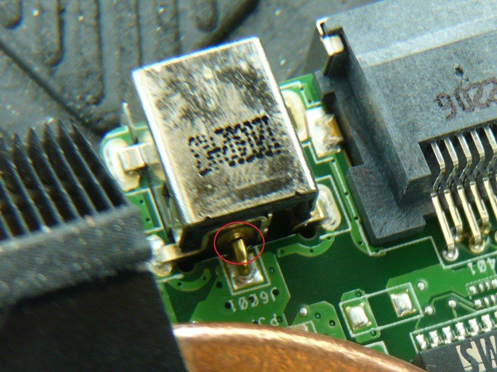 ASUS X53E Netzbuchse Defekt (9)