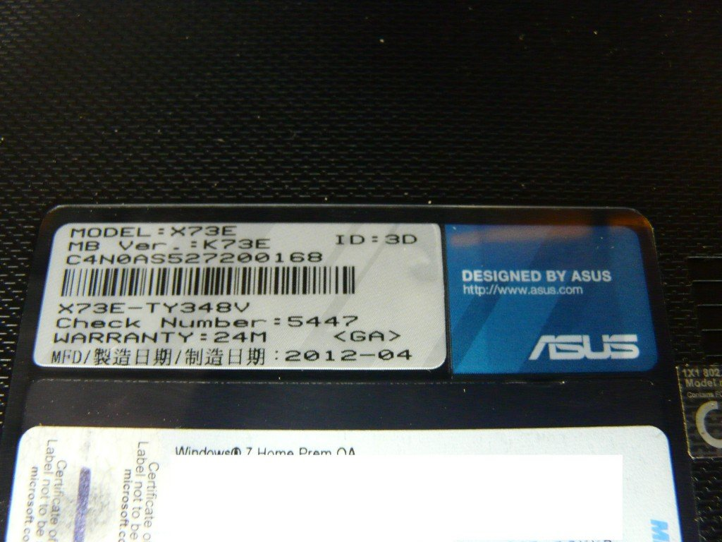ASUS X73E Display Defekt Display Tauschen (11)