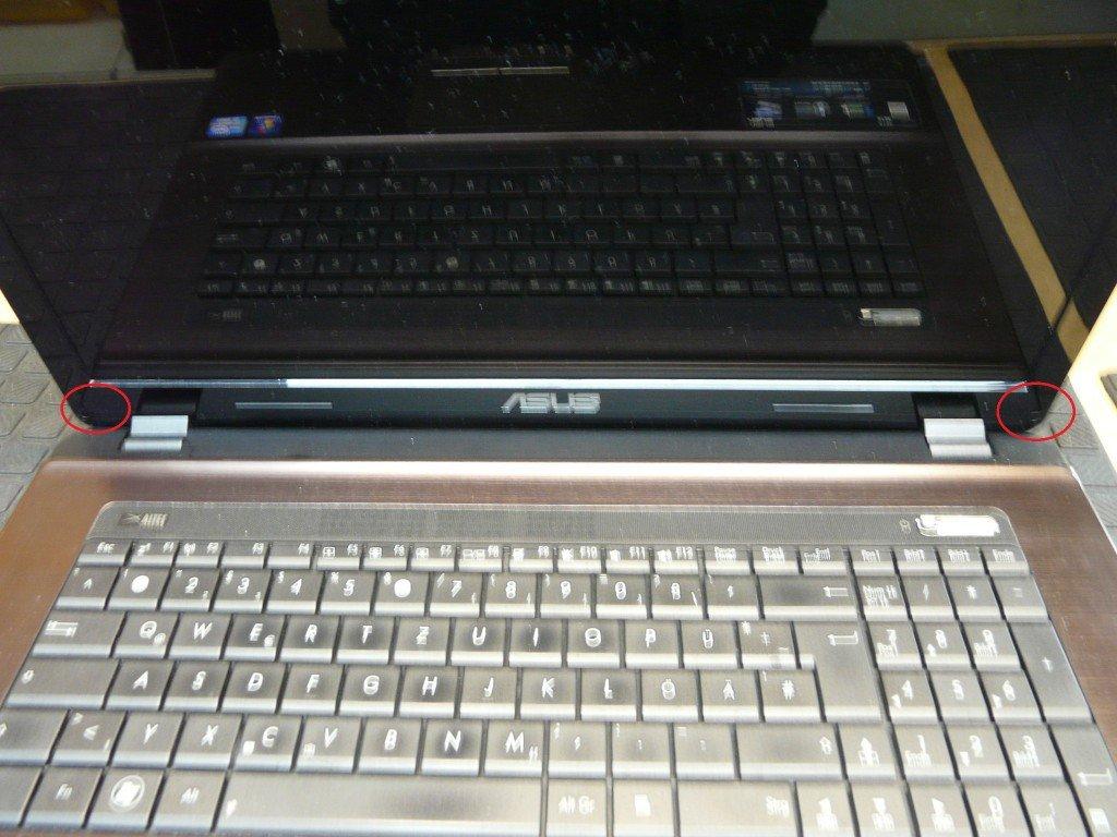 ASUS X73E Display Defekt Display Tauschen (2)