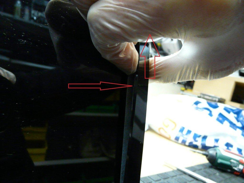 ASUS X73E Display Defekt Display Tauschen (4)