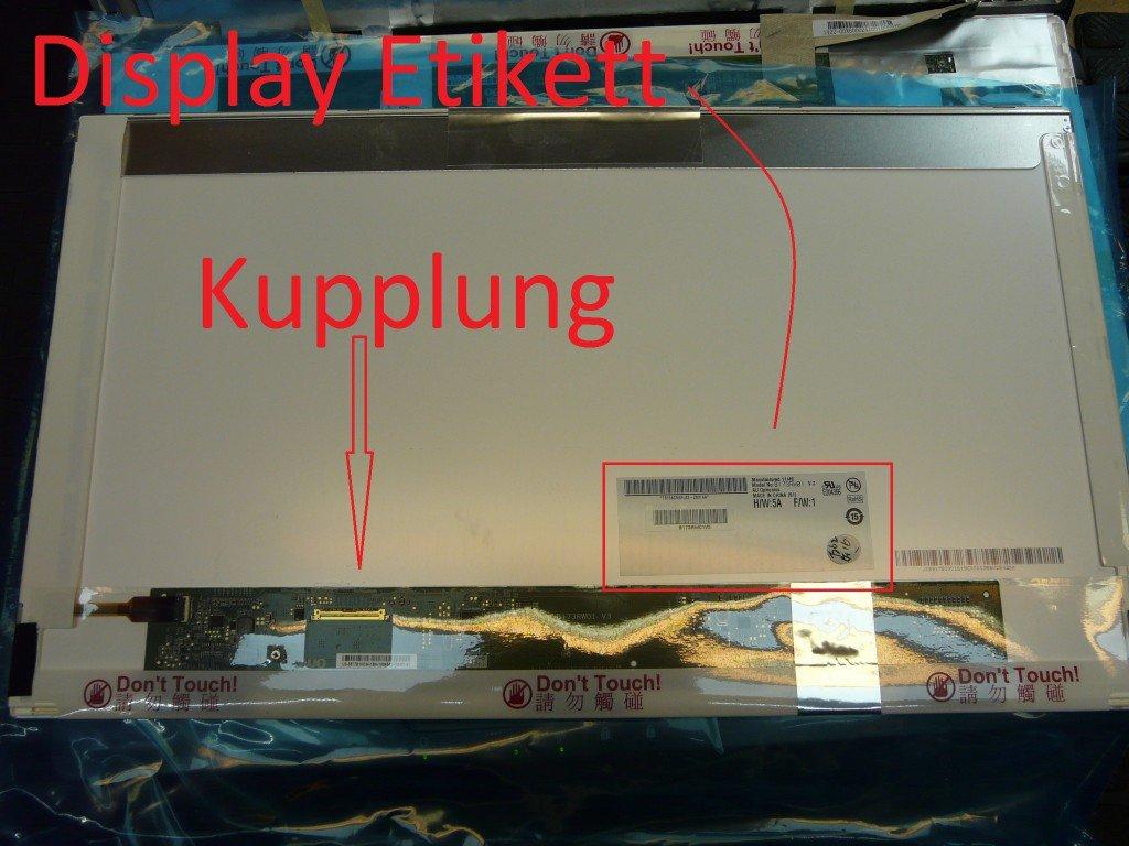 ASUS X73E Display Defekt Display Tauschen (9)