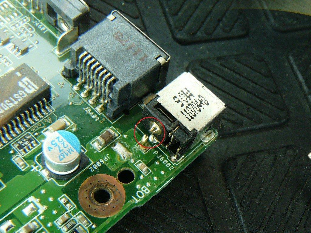 Asus A73S Netzbuchse defekt (10)