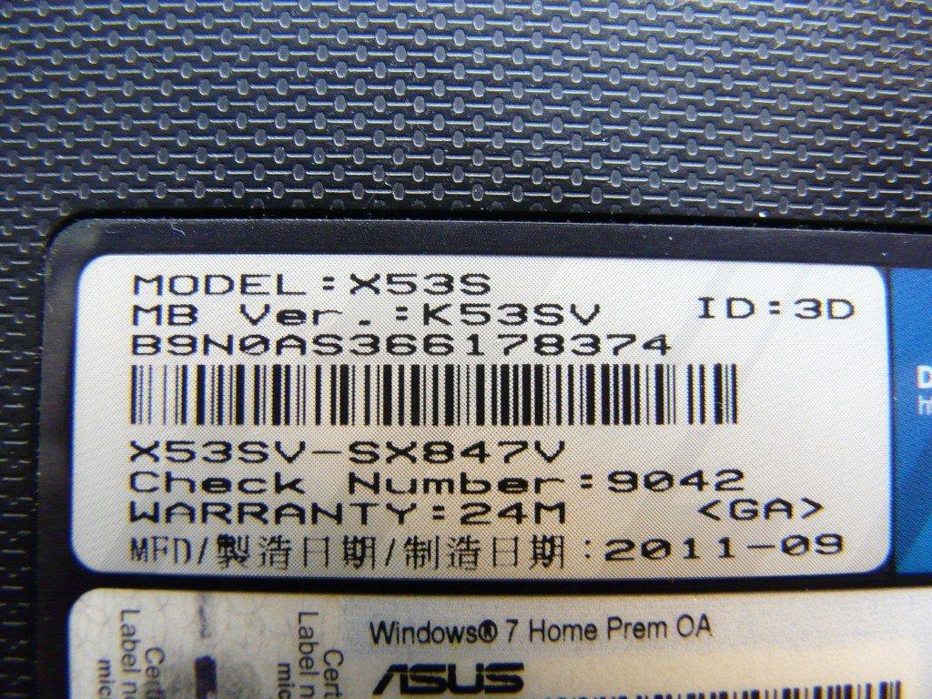Asus X53S, Lüfter Reinigen Wärmeleitpaste (13)