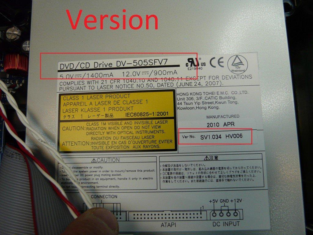 BOSE AV3-2-1III spielt kein DVD (6)
