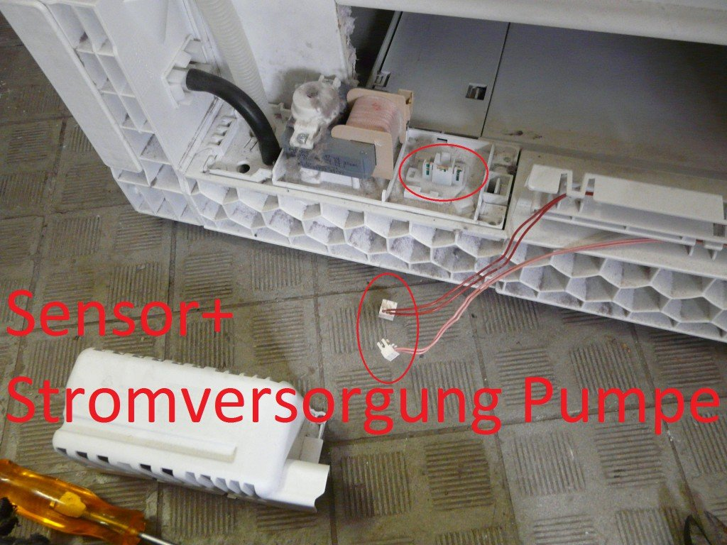 Bosch Logixx 6 WTS8651010 Pumpe defekt (5)