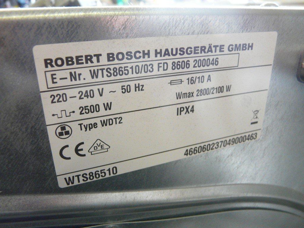 Bosch Logixx 6 WTS8651010 Pumpe defekt (9)