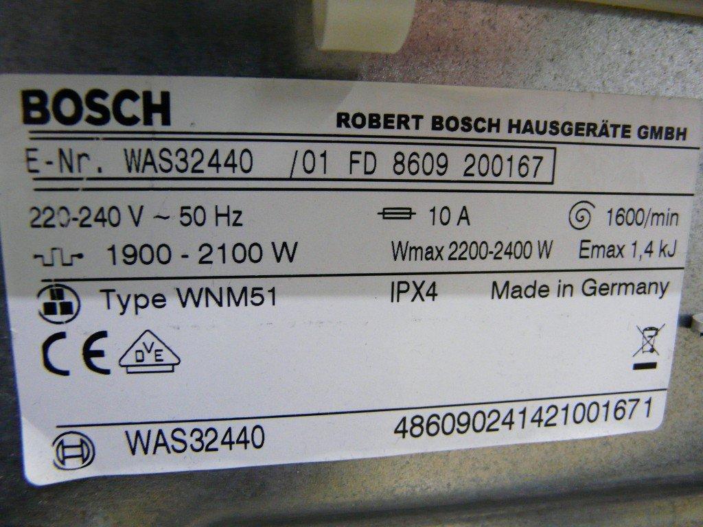 Bosch Logixx 7 WAS32440 Tür defekt (6)