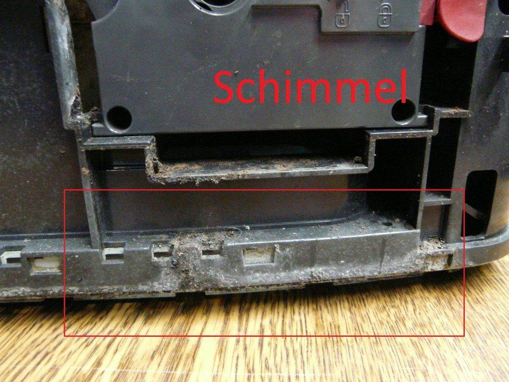 Bosch TES70151, geht aus, Schimmel (4)