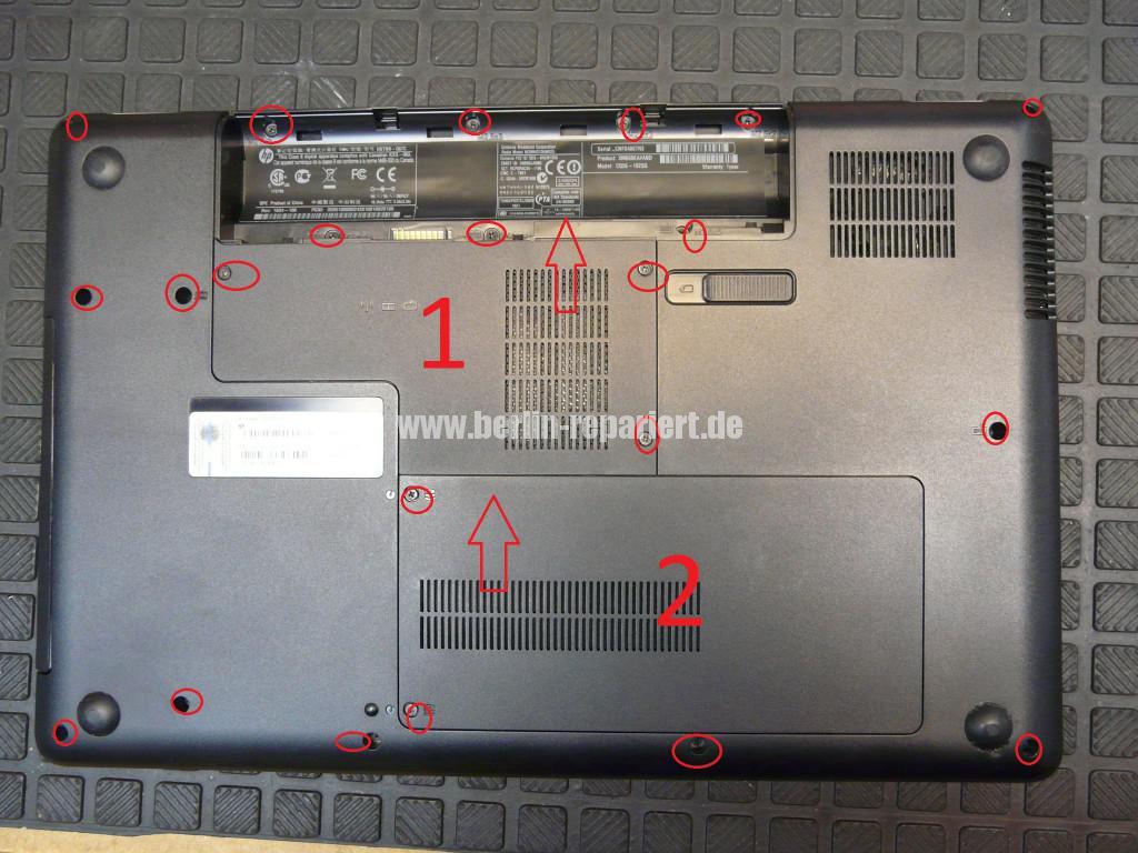 Compaq CQ56, Grafik Defekt (1)