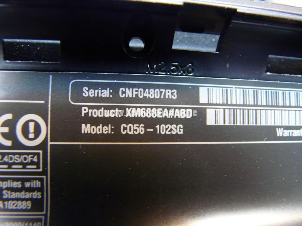 Compaq CQ56, Grafik Defekt (9)