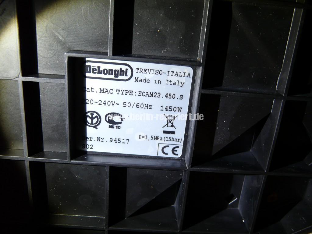 Delonghi ESAM 23.450, Schimmel (7)