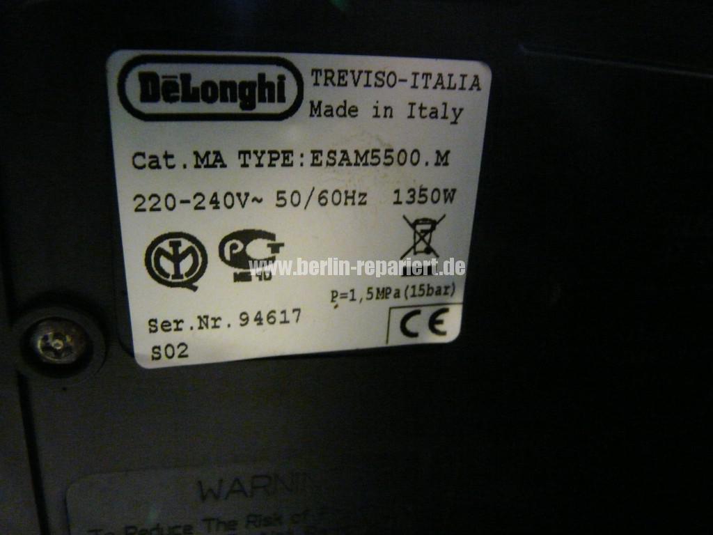 Delonghi ESAM 5500, Heizt nicht (4)
