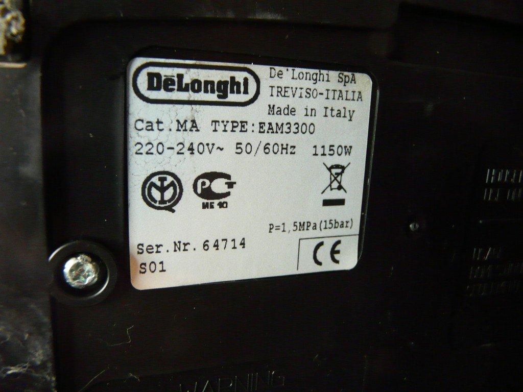 Delonghi Magnifica EAM 3300 (4)
