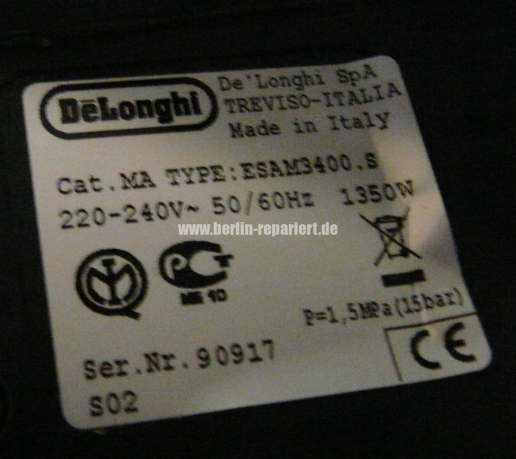 Delonghi Magnifica Rost Schimmel Oxid (7)
