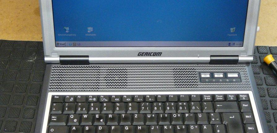 Notebook Gericom Hummer 2430xl Sehr Langsam Und Festplatte Macht