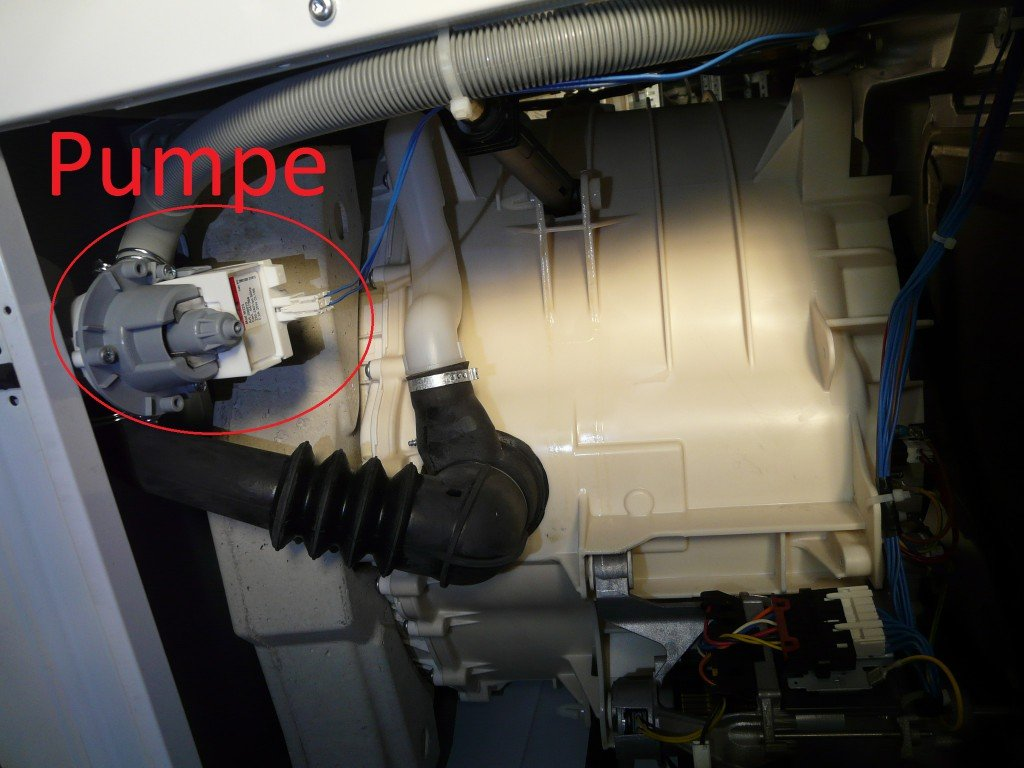 Gorenje WA 7439 Pumpt nicht (3)