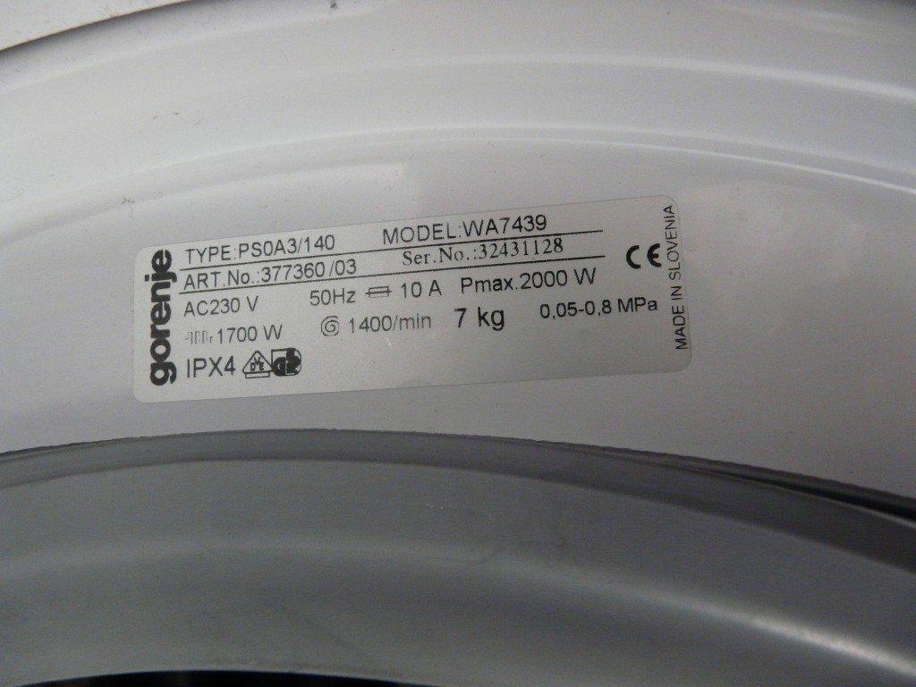 Gorenje WA 7439 Pumpt nicht (7)