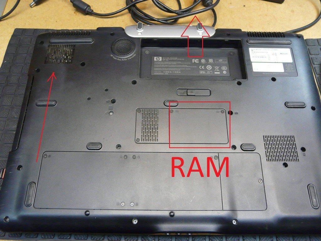 HP Entertainment HDX9000 RAM erweiterung 2 (2)