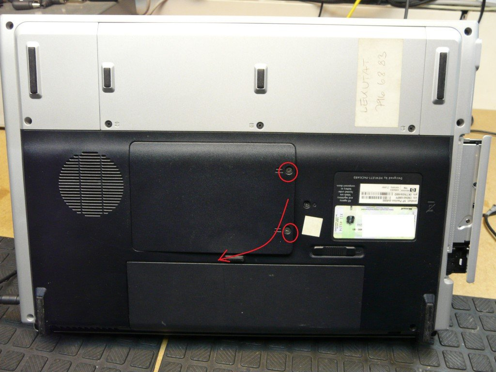 HP Pavilion DV8000 RAM (2)