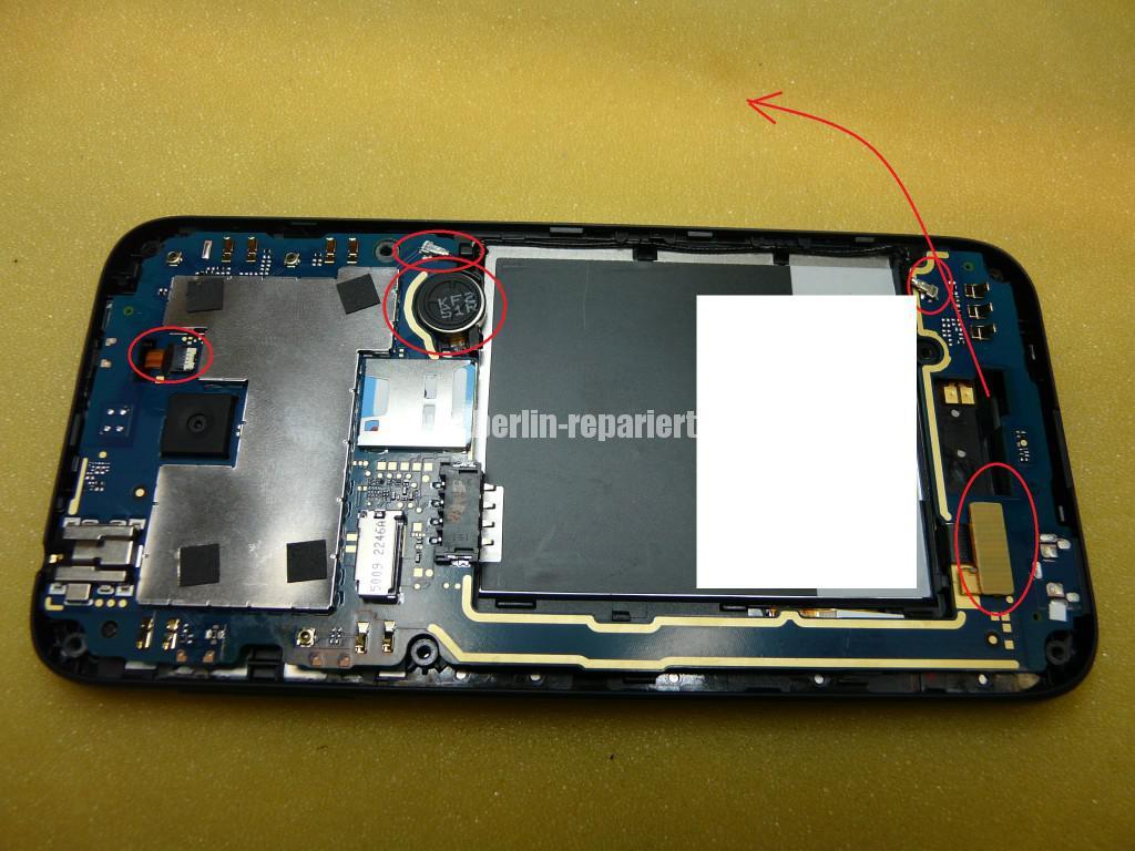 HTC Desire 510 Display Digitizer tauschen  (5)
