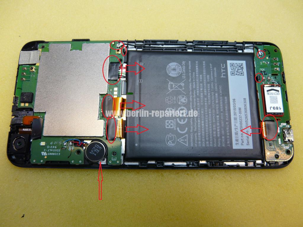 HTC Desire 626, Display Defekt (5)