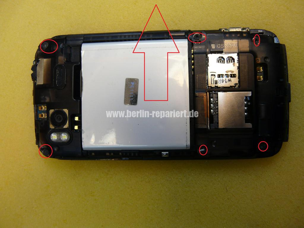 HTC ONE S, USB Defekt (2)