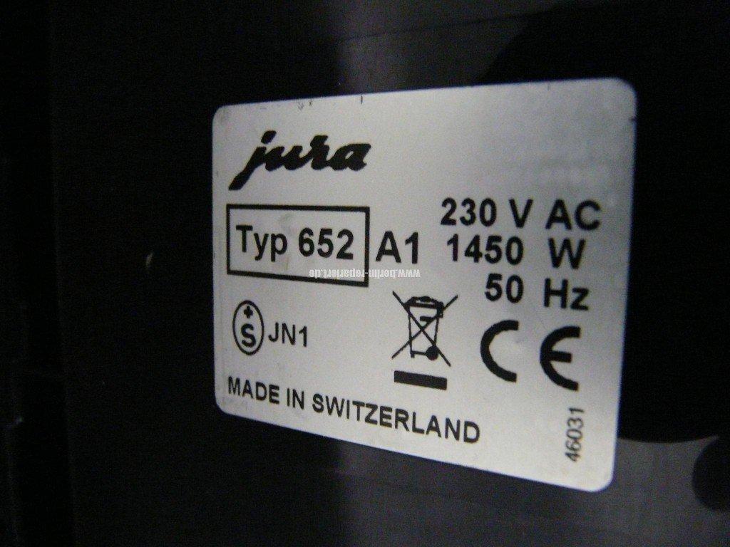 Jura J5, Wärmetauscher verliert Wasser Oxid (4)