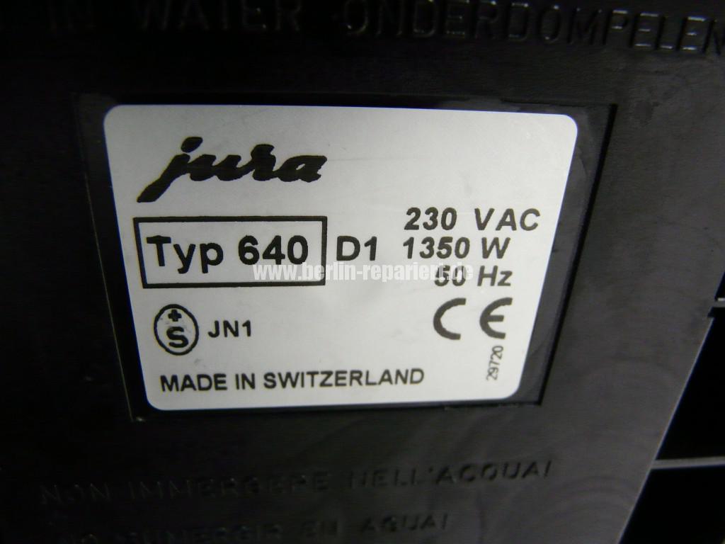 Jura S75, Verstopft, Reinigung, Heizung Oxid (4)