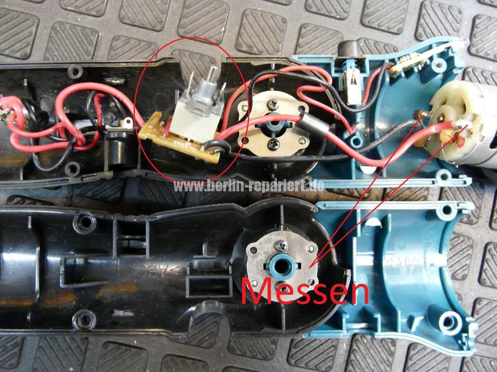 Makita 6722D, Dreht nicht, Schalter Defekt (2)