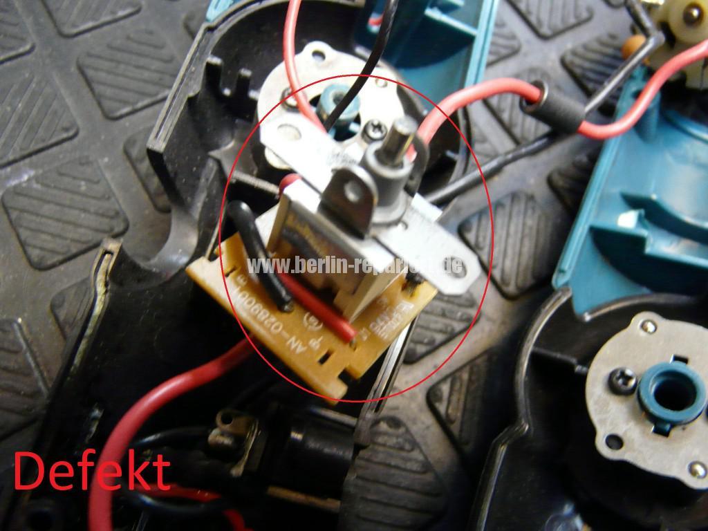 Makita 6722D, Dreht nicht, Schalter Defekt (3)