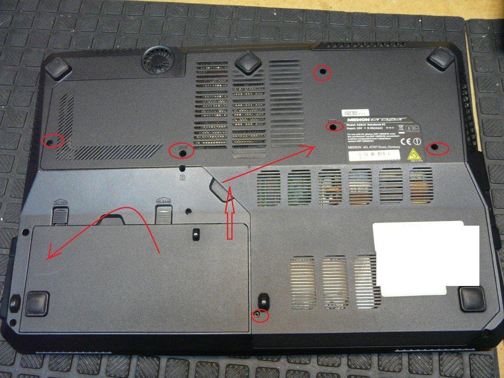 Medion Erazer MD97908 Model X6819 Startet nicht (3)
