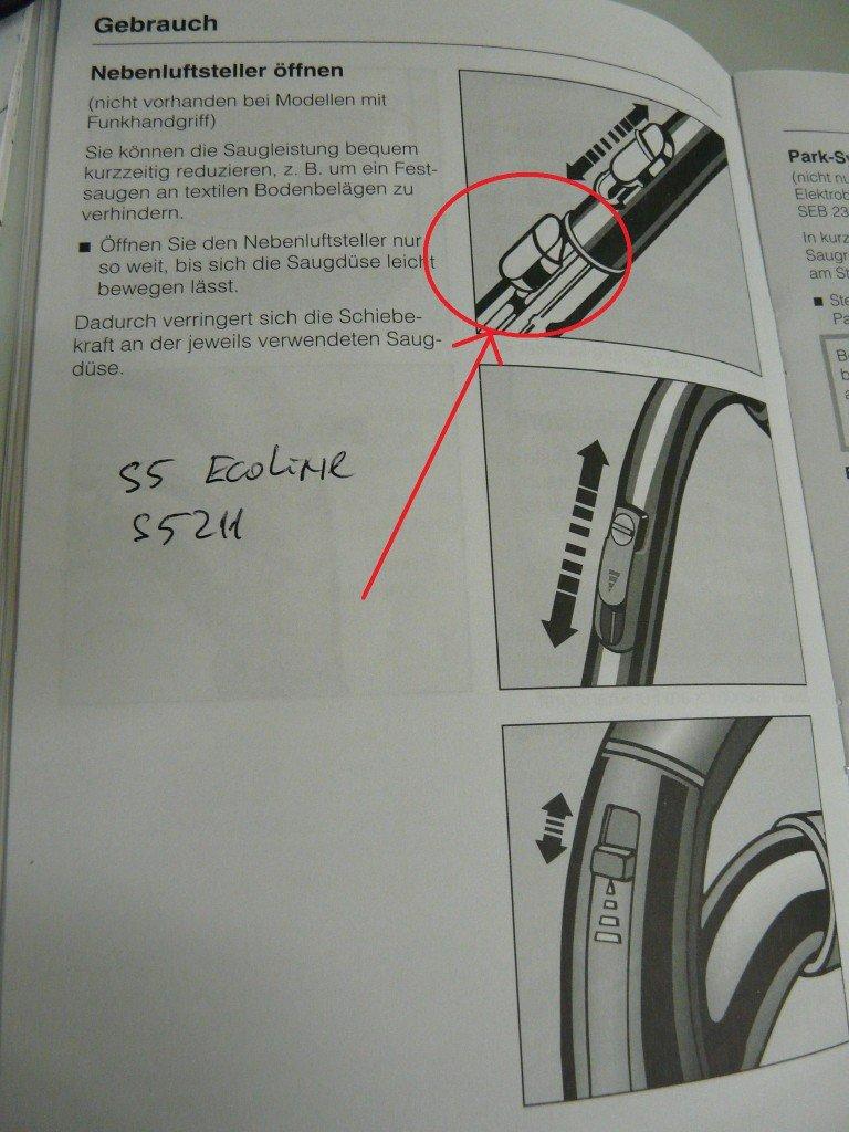 miele s 5211 eco line staubsauger teleskoprohr rastet nicht mehr ein leon s blog. Black Bedroom Furniture Sets. Home Design Ideas