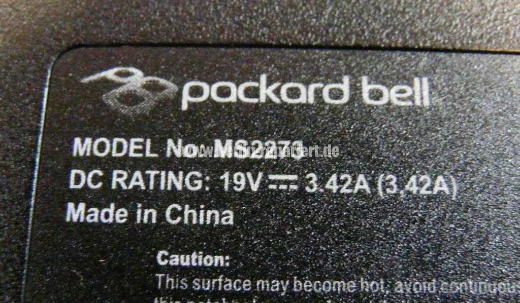 Packard Bell MS2273, Display Defekt (10)