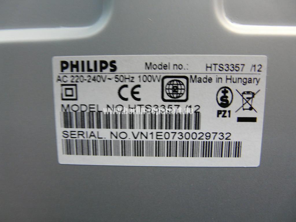 Philips HTS3357, DVD CD springt (9)