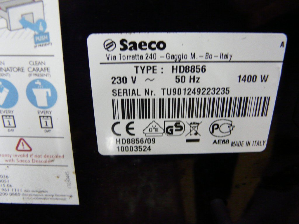 Philips Saeco Xprelia HD8856 Error 05 (4)