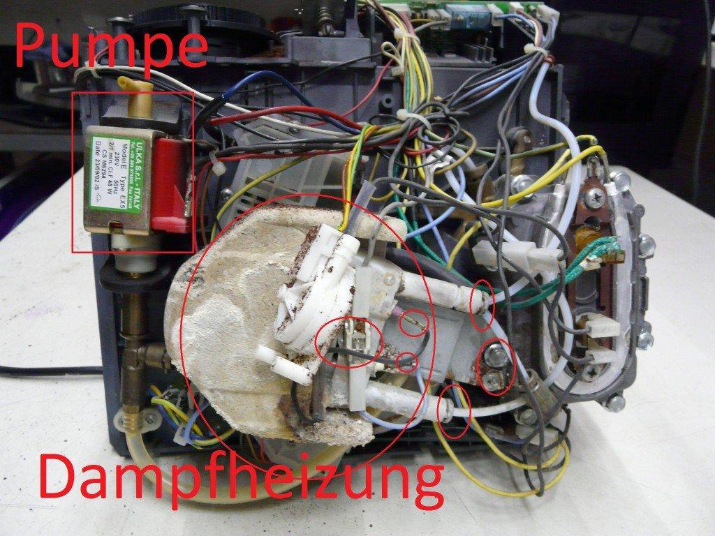 Saeco Cafe Crema SUP018CR Oxid Dampfheizung (3)