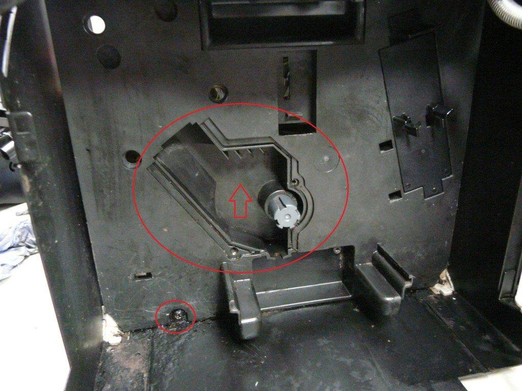 Saeco Incanto SUP012Y Getriebe (2)
