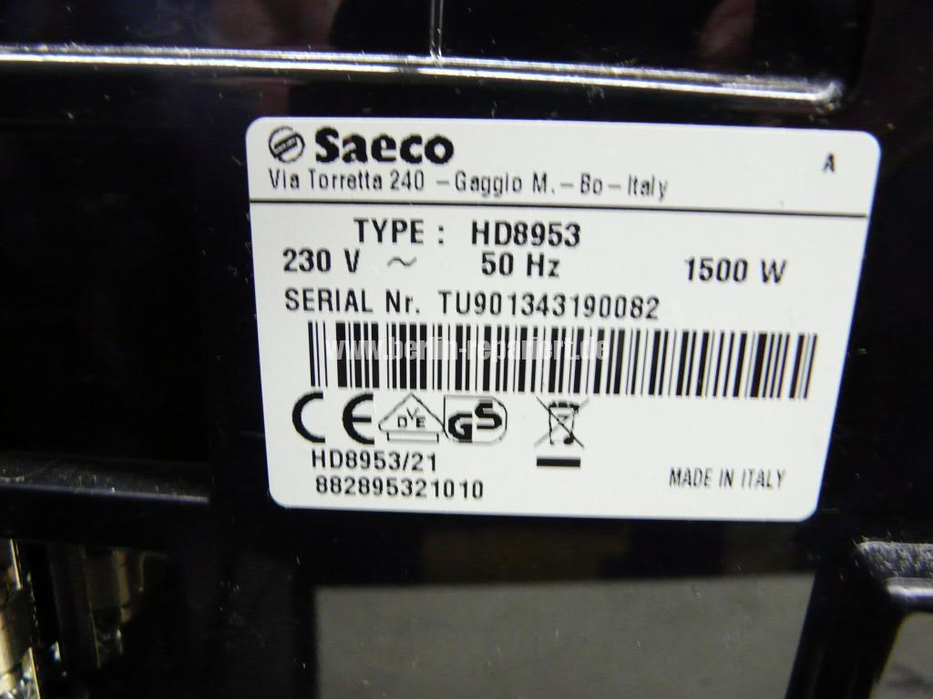 Saeco Philips Xelsis Evo, HD 8953, Verstopft (2)