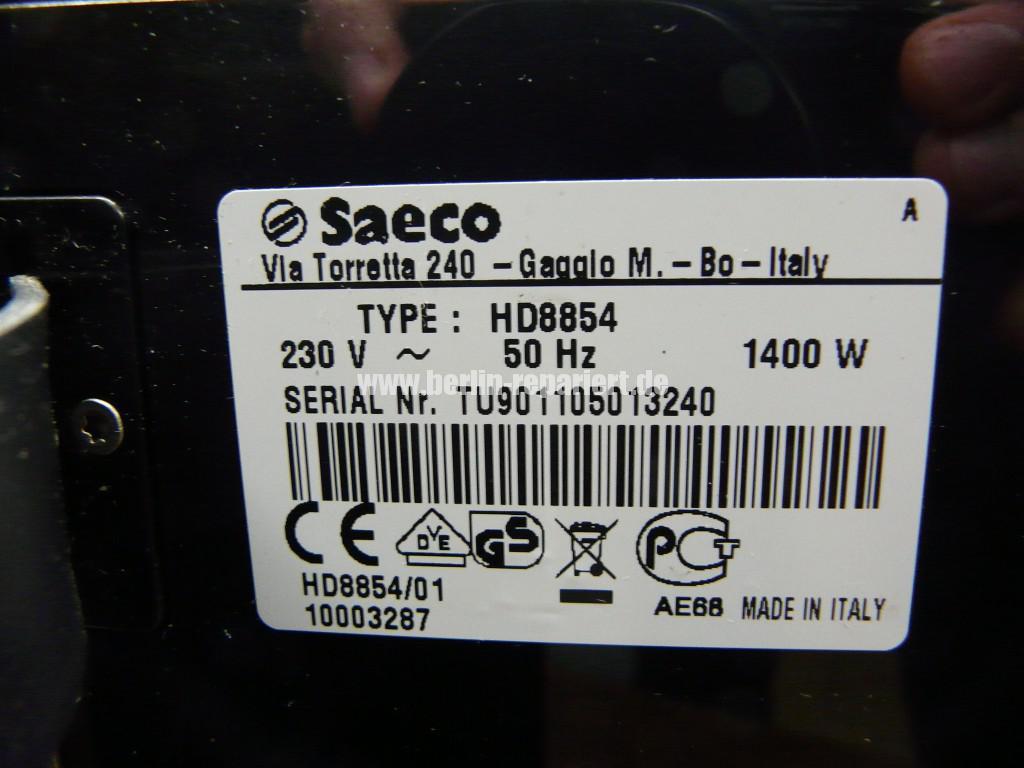 Saeco Xprelia HD8854, kein Dampf (4)